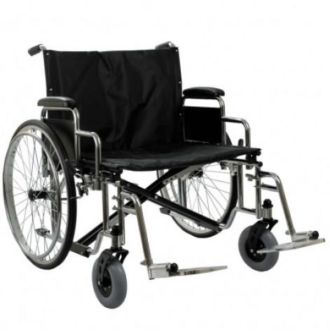 Купить Инвалидная коляска с усиленной рамой Ортопедическая подушка для коляски в ПОДАРОК. (OSD-YU-HD-66). Изображение №1