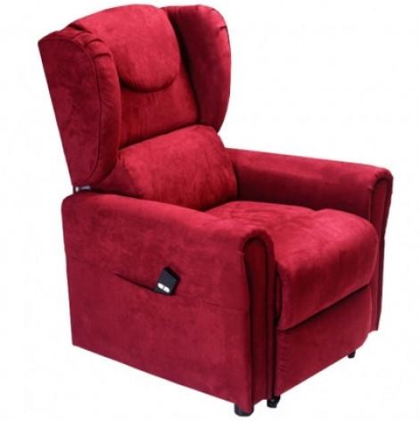 Купить Подъемное кресло с двумя моторами, BERGERE (красное) (OSD-BERGERE-JP04-1LD). Изображение №1