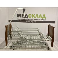 Медицинская кровать Немецкая c электроприводом c деревянными быльцами