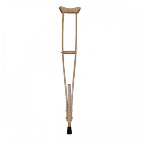 Купить Костыли подмышечные деревянные для взрослых (МДД). Изображение №1