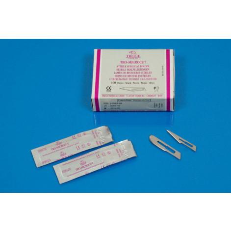 Купить Хирургические лезвия TRO-MICROCUT №21, TROGE (63012). Изображение №1
