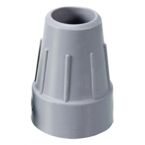 Купить 723gr Резиновые наконечники на трости(костыли), серые, диаметр 23мм (723gr). Изображение №1
