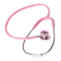 Стетоскоп для младенцев MDF 777I 01 стальной с двойной головкой Розовый