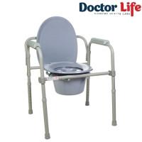 Стул туалет складной стальной 12627
