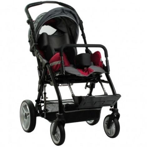 Купить Инвалидная коляска детская реабилитационная для детей з ДЦП Ортопедическая подушка для коляски в ПОДАРОК. (OSD-MK2218). Изображение №1