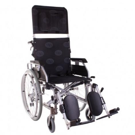 Купить Инвалидная коляска многофункциональная алюминиевая Recliner Modern Ортопедическая подушка для коляски в ПОДАРОК. (OSD-MOD-REC-**). Изображение №1
