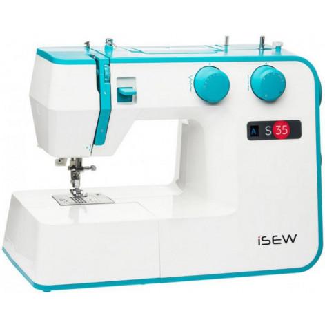 Купить Швейная машина iSEW S35, электромех., 37 швейных операций, петля автомат, 70 Вт (ISEW-S35). Изображение №1