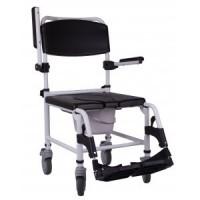 Инвалидная каталка для душа с туалетом Wave  колеса 5