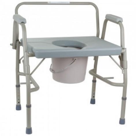 Купить Стул-туалет с откидными подлокотниками усиленный (высота: 50-60) (OSD-BL740101). Изображение №1
