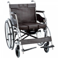 Купить Складная инвалидная коляска с санитарным оснащением, OSD-H003B (OSD-H003B). Изображение №1