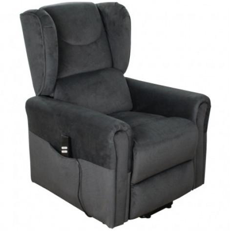Купить Подъемное кресло с двумя моторами, BERGERE (грифельно-серое) (OSD-BERGERE-TW04-1LD). Изображение №1