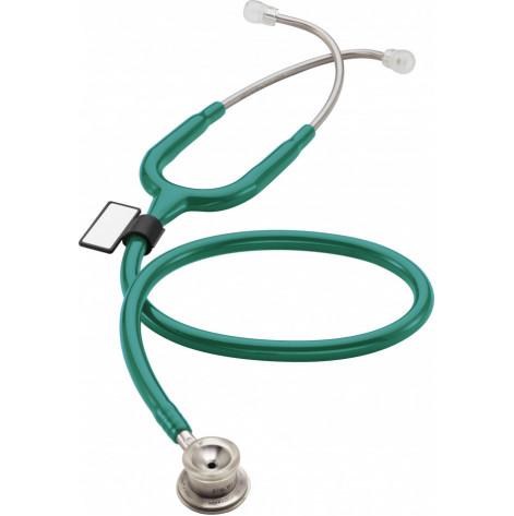 Купить Стетоскоп для взрослых MDF 777 09 стальной с двойной головкой Зеленый (777-09). Изображение №1