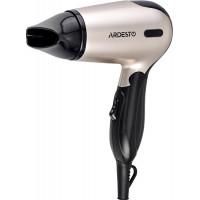 Фен Ardesto HD-503T дорожный/1200 Вт/складная ручка/2 скорости/2 темпер. режима/серебристо-черный