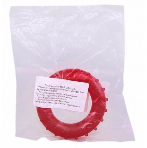 Купить Эспандер кистевой (кольцо черное среднее) (OS-013R.ч). Изображение №1
