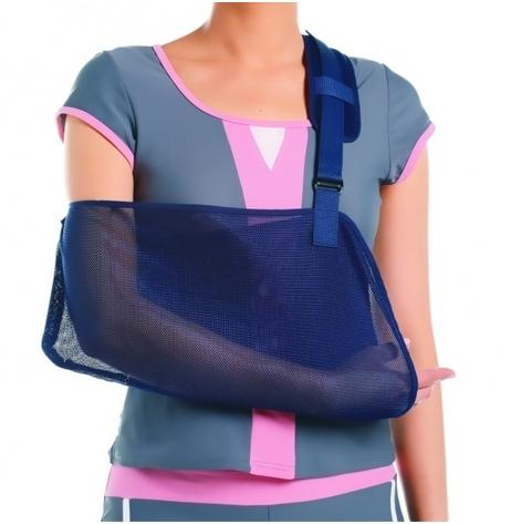 Купить AS-02 Бандаж для поддержки руки, синий, M (AS-02-M). Изображение №1