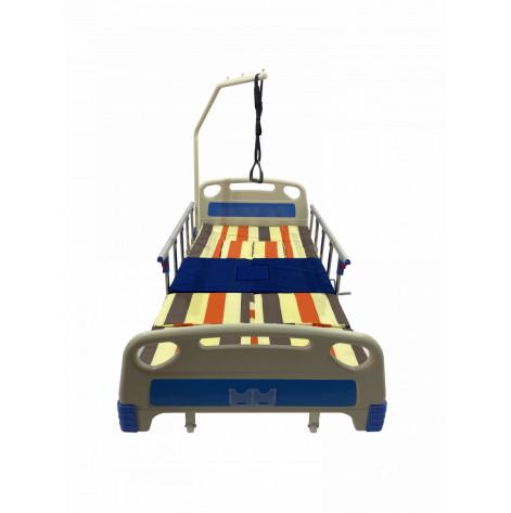 Купить Матрас для лежачего больного медицинский водонепромокаемый для медицинских кроватей с туалетом. Универсальный со сменным чехлом (MED-H0103MMED). Изображение №1