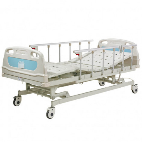Купить Реанимационная медицинская кровать с электроприводом, 4 секции, OSD-B02P (OSD-B02P). Изображение №1