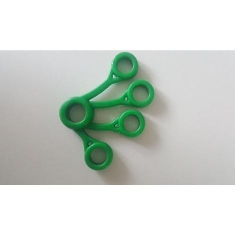 Купить Пальчиковый тренажер (экстензор зеленый Средний) (OS-014.з). Изображение №1