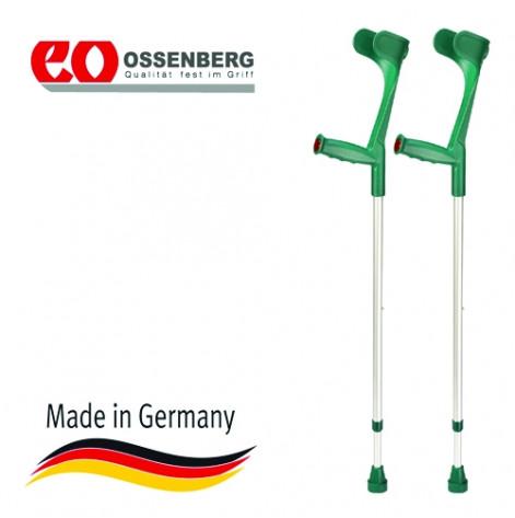 Купить Костыль локтевой, твердая рукоятка Ergo, цвет зеленый (220 DKTа). Изображение №1