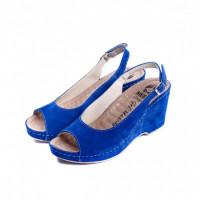 505 Жіночі шкіряні тапочки  VESUVIO BLUE 40р.