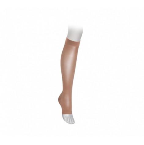 Купить Гольфи компресійні медичні Microtrans Мікрофібра 2 клас з відкритим носком (бежевий) (825R-BI /1). Изображение №1