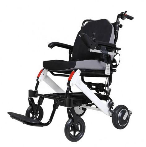 Купить Легкая складная алюминиевая электроколяска для инвалидов D-6033 (D-6033). Изображение №1