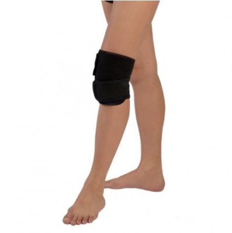 Купить Бандаж коленного сустава согревающий (из собачьей шерсти) (серый) р.1 (3055.1сір). Изображение №1