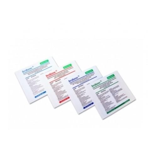 """Купить Повязка """"MEDICARE"""" антимикробная сорбционная стерильная, для лечения ран, которые долго не заживают, 10х10 см (5609). Изображение №1"""