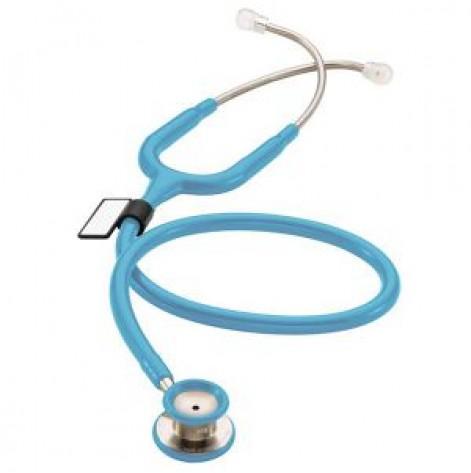 Купить Стетоскоп для младенцев MDF 777I 03 стальной с двойной головкой Голубой (777I 03). Изображение №1