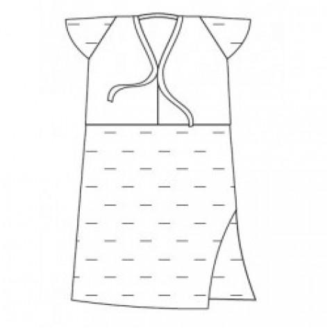 Купить Рубашка женская процедурная стерильная (1120201) (66114). Изображение №1
