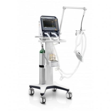 Купить Аппарат для искусственной вентиляции легких SV-300 .: подвижная подставка, держатель (рукавом) для дыхательного контура, увлажнитель SH330 / EU (SV300-1). Изображение №1