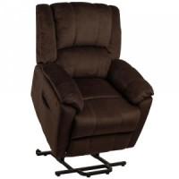 Подъемное кресло с двумя моторами (коричневое) OSD-HANNA-AD05-1LD