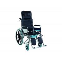 Инвалидная коляска многофункциональная с санитарным оснащением Golfi-124