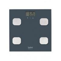 Весы напольные Tefal BM2520V0, цифровой дисп., нагрузка-150 кг, корпус-стекло, серый
