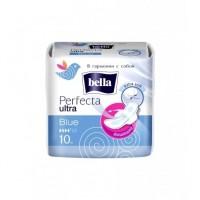 Прокладки Белла Перфекта Ultra Blue 10шт  4 капли