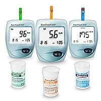 Аппарат для измерения уровня глюкозы / холестерина в крови Easy Touch