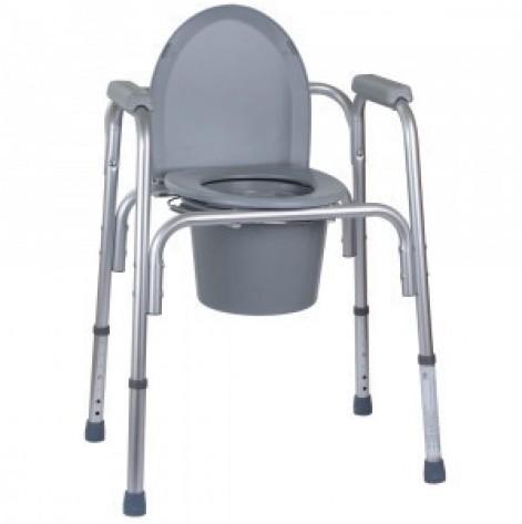 Купить Алюминиевый стул-туалет 3 в 1 OSD-BL730200 (OSD-BL730200). Изображение №1