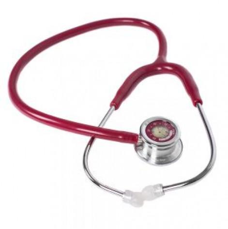 Купить Стетоскоп для взрослых MDF 740 17 Pulse Time Бордовый (740-17). Изображение №1