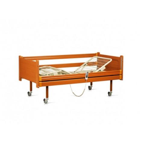 Купить Кровать медицинская с электромотором на колесах, с перилами (4 секции) (в комплектe: матрас) (OSD-91E). Изображение №1