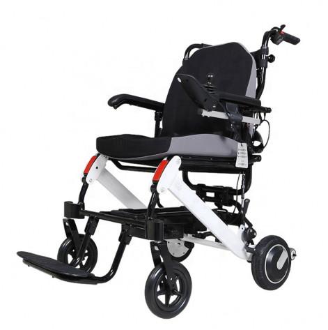 Купить Легкая складная электроколяска для инвалидов MIRID D6033 (0018). Изображение №1