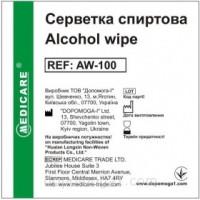 Салфетка дезинфицирующая спиртовая