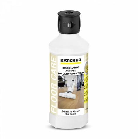Купить Средство моющее Karcher RM 535 для ухода за вощеными деревянными полами, 500мл (6.295-942.0). Изображение №1