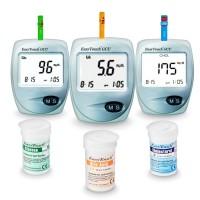 Аппарат для измерения уровня глюкозы в крови Easy Touch