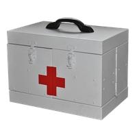 Саквояж алюминиевый для автомобилей скорой помощи умсп медицинский