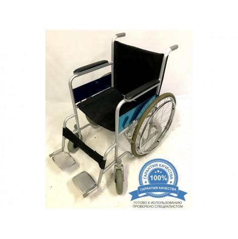 Купить Инвалидная коляска 50 см сиденье  Оптимальный вариант (50-69-UAN-SKL). Изображение №1