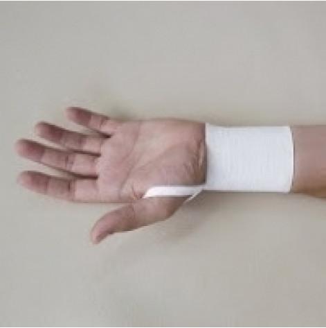 Купить Бандаж лучезапястного сустава эластичный kids (серый) р.1 лев. (3007.1КЛсір). Изображение №1
